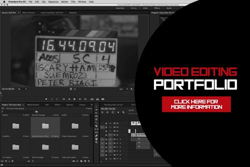VIDEO EDITING PORTFOLIO
